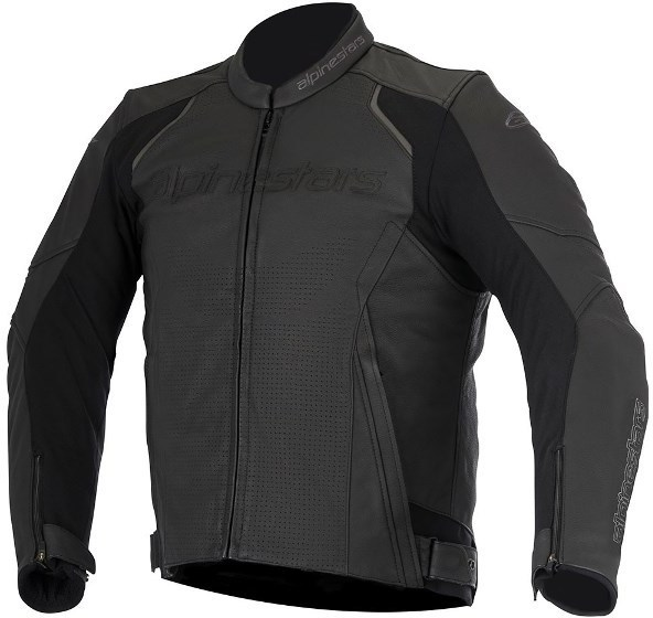 МОТОКУРТКА ALPINESTARS DEVON AIRFLOW КОЖА ЧЕРНЫЙ
