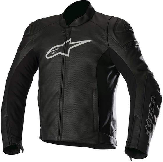МОТОКУРТКА ALPINESTARS SP-1 AIRFLOW КОЖА ЧЕРНЫЙ