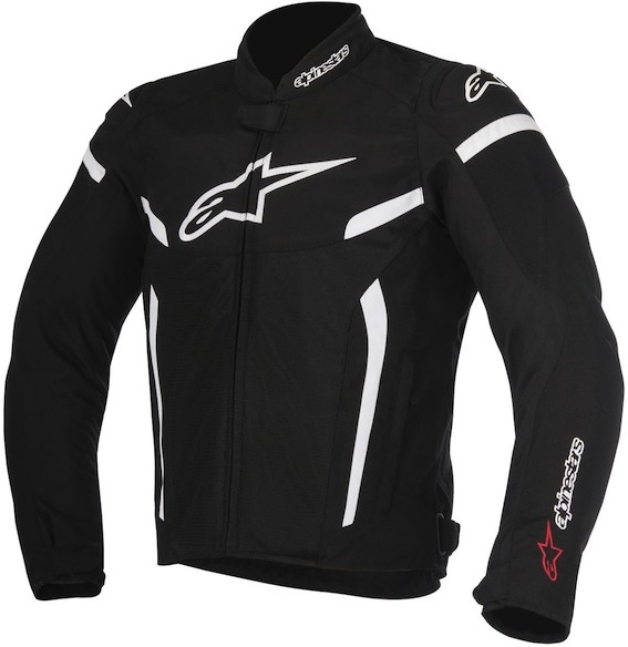МОТОКУРТКА ALPINESTARS T-GP PLUS R V2 AIR ЧЕРНЫЙ БЕЛЫЙ