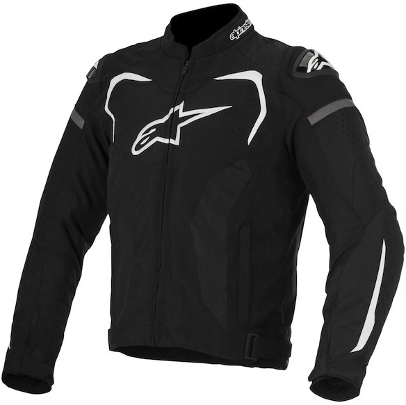 МОТОКУРТКА ALPINESTARS T-GP PLUS R V2 ЧЕРНЫЙ БЕЛЫЙ