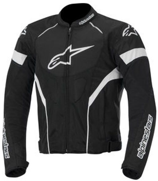 МОТОКУРТКА ALPINESTARS T-GP PLUS R ЧЕРНЫЙ БЕЛЫЙ