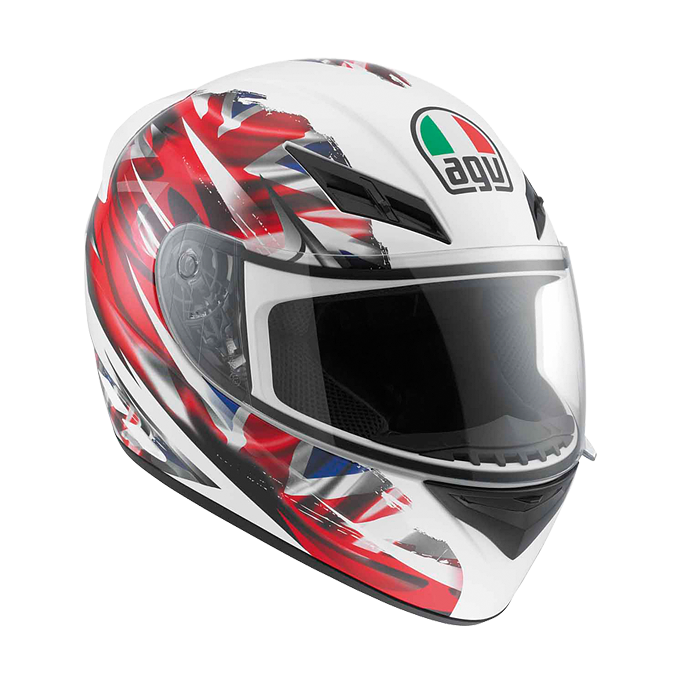 МОТОШЛЕМ AGV K-3 MULTI UK FLAG (БРИТАНСКИЙ ФЛАГ)