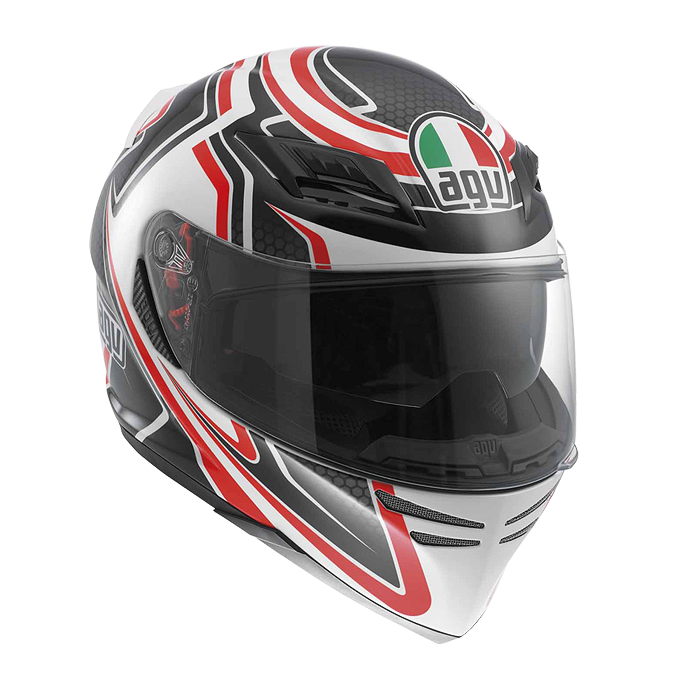 МОТОШЛЕМ AGV HORIZON MULTI RACER BLACK / CARBON / RED