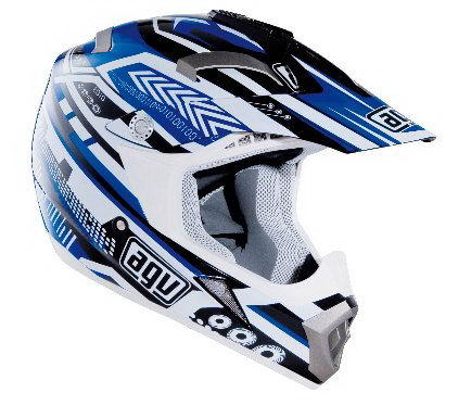 МОТОШЛЕМ AGV MT-X JUNIOR MULTI TP 06 BLACK/BLUE