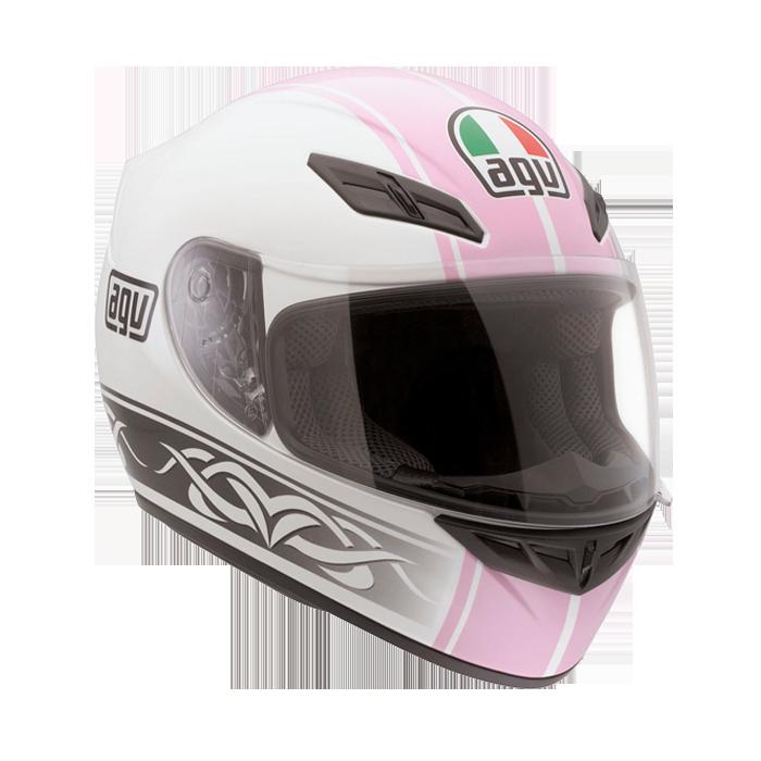 ШЛЕМ AGV K-4 EVO MULTI ROADSTER WHITE/PINK