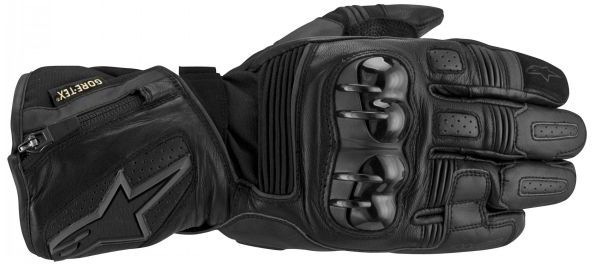 МОТОПЕРЧАТКИ ALPINESTARS TECH ROAD GORE-TEX® КОЖА ЧЕРНЫЙ