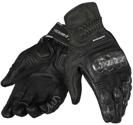 МОТОПЕРЧАТКИ DAINESE CARBON COVER S-ST КОЖА ЧЕРНЫЙ