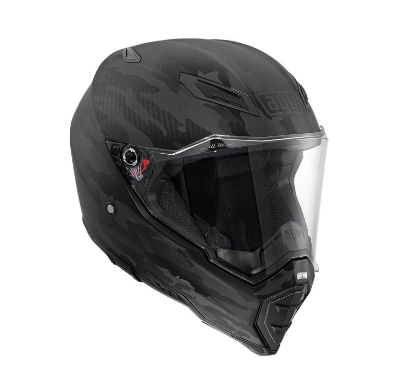 МОТОШЛЕМ AGV AX-8 NAKED CARBON