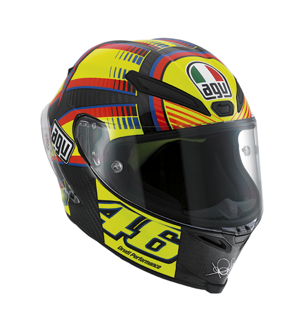 МОТОШЛЕМ AGV PISTA GP SOLELUNA LIMITED EDITION