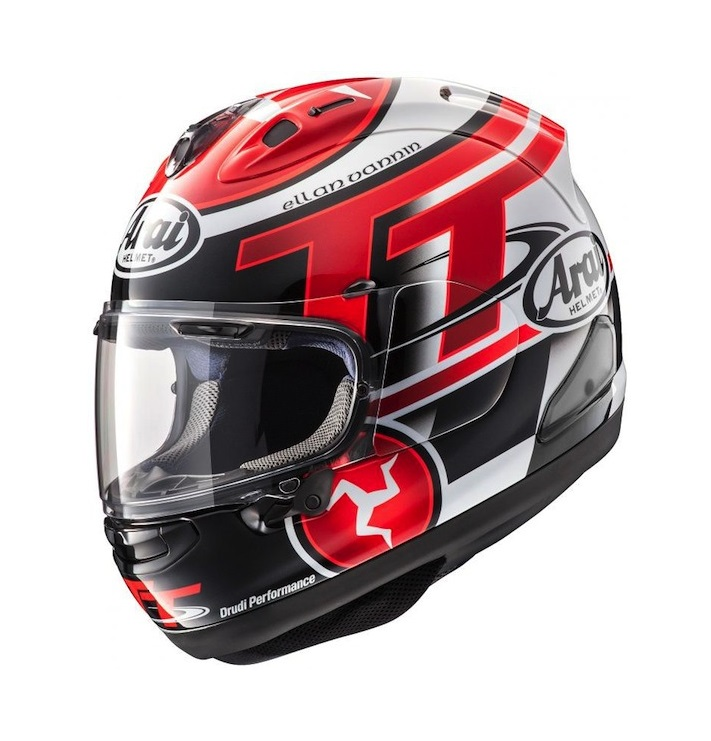 МОТОШЛЕМ ARAI RX-7V ISLE OF MAN TT LTD.ED.