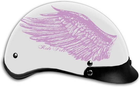 МОТОШЛЕМ HOTLEATHERS RIDE FREE WINGS DOT